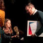 Gelley Bálint, a 2. CINEMIRA Gyerekfilm Fesztivál nyertese. Fotó: Varga Gábor Vargosz